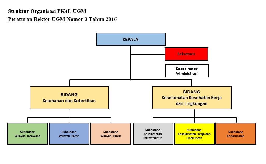 struktur organisasi Bagan Organisasi Lengkap Lingkungan